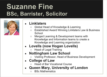 Suzanne Fine BSc, Barrister, Solicitor, Adviser